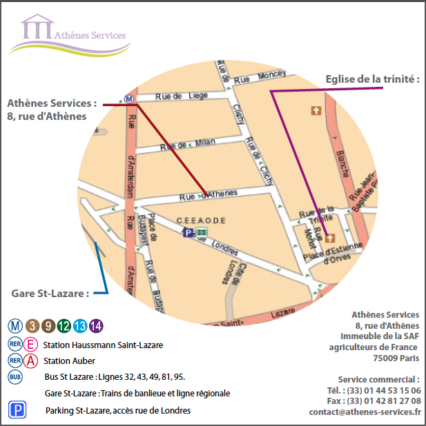 Plan athenes services