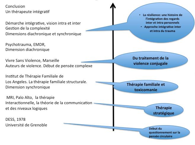 Une approche intégrative des dimensions diachronique et synchronique en psychothérapie