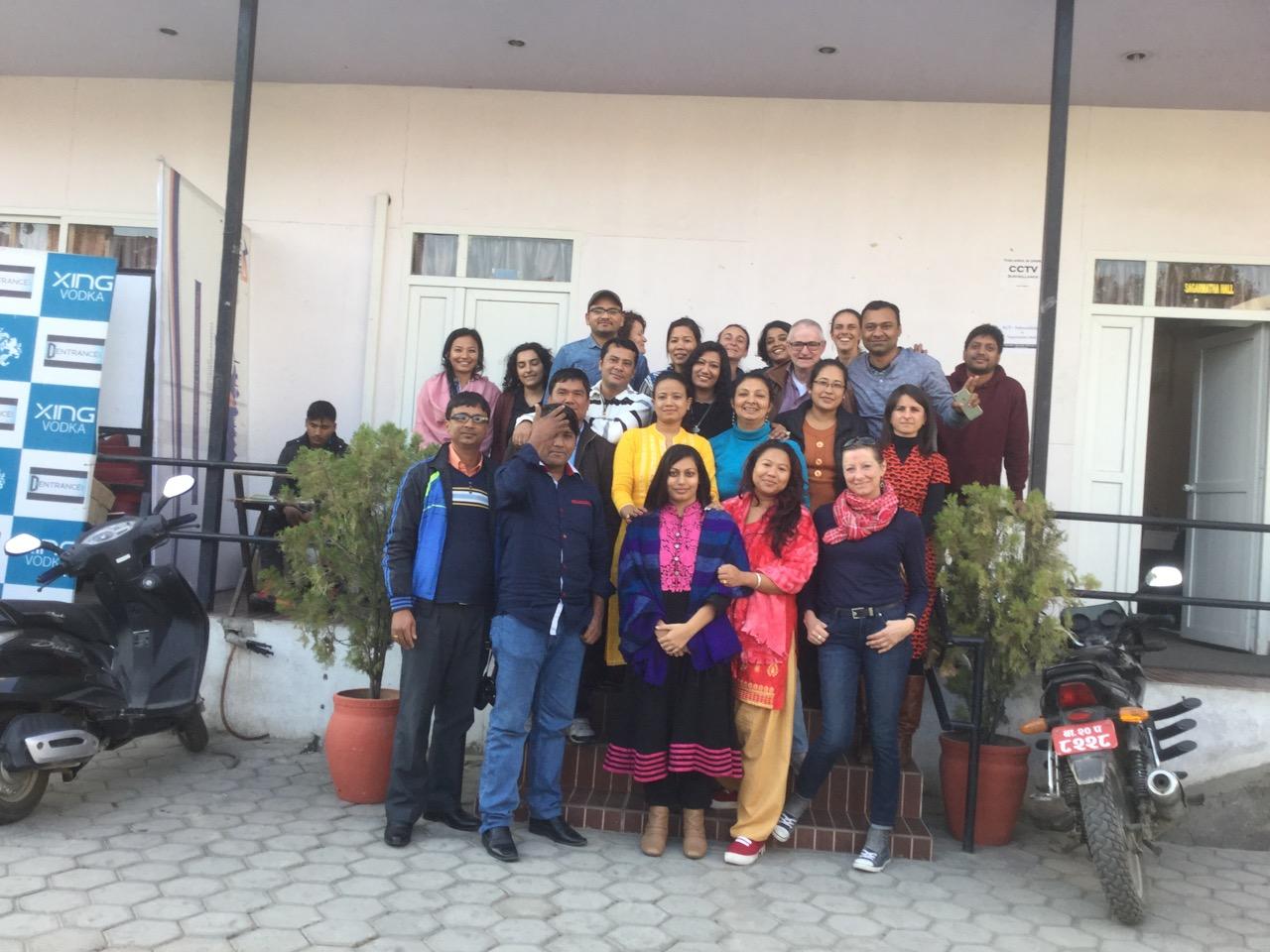 des nouvelles de la Formation EMDR au Népal